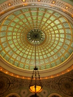 The Chicago Cultural Center and Tiffany Dome