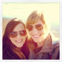 Stinson Beach with Katie, a much needed reunion