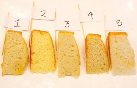 Yellow Cake Recipe Test Round 1