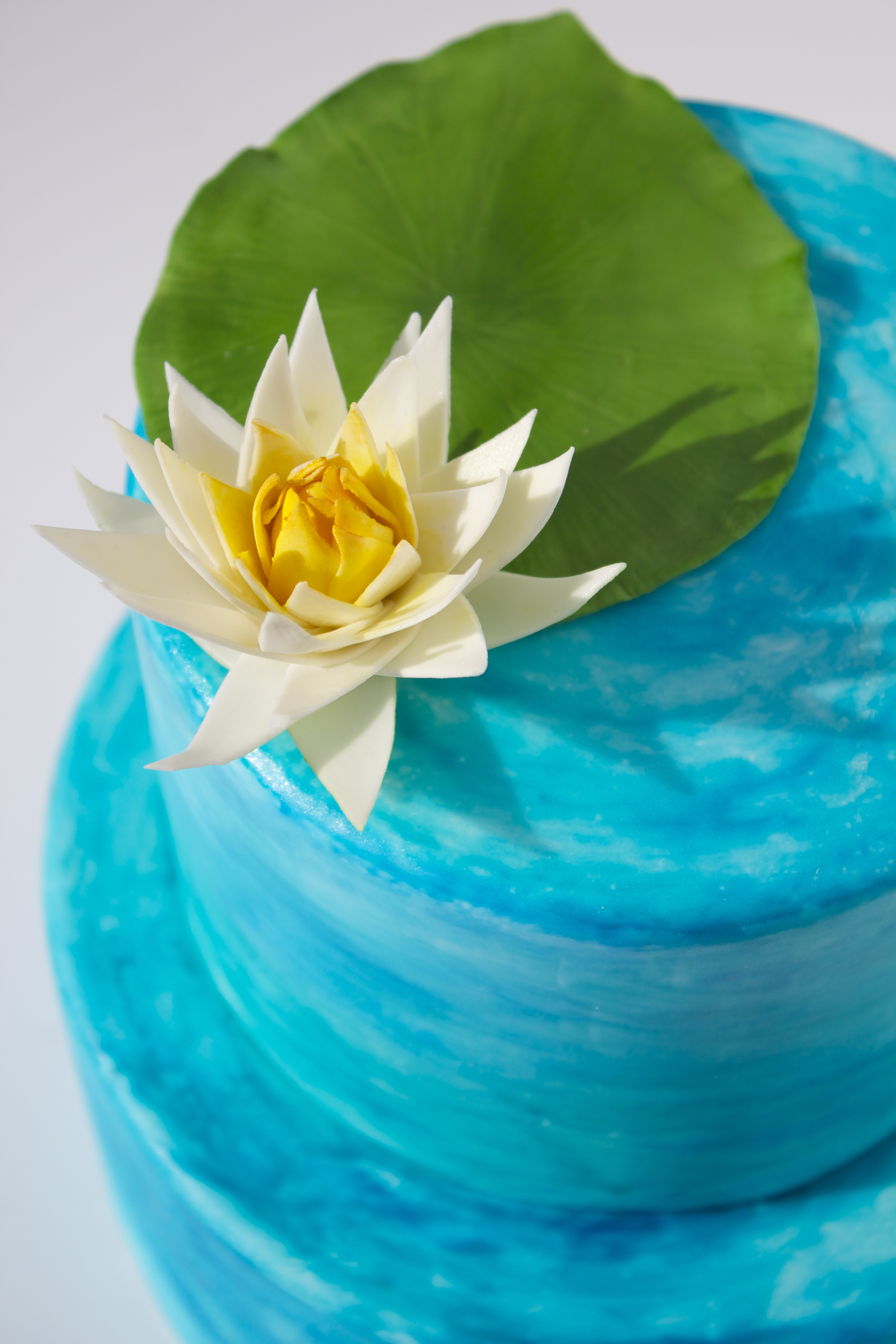 Water Lily Cake Pictures To Pin On Pinterest Thepinsta