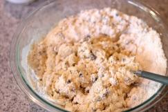 Cream Scones with dried currants & orange zest