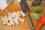 Chopped feta