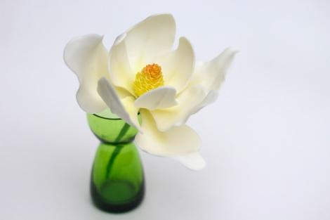 Handcrafted White Sugar Magnolia