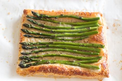 Quick & Easy Asparagus Tart