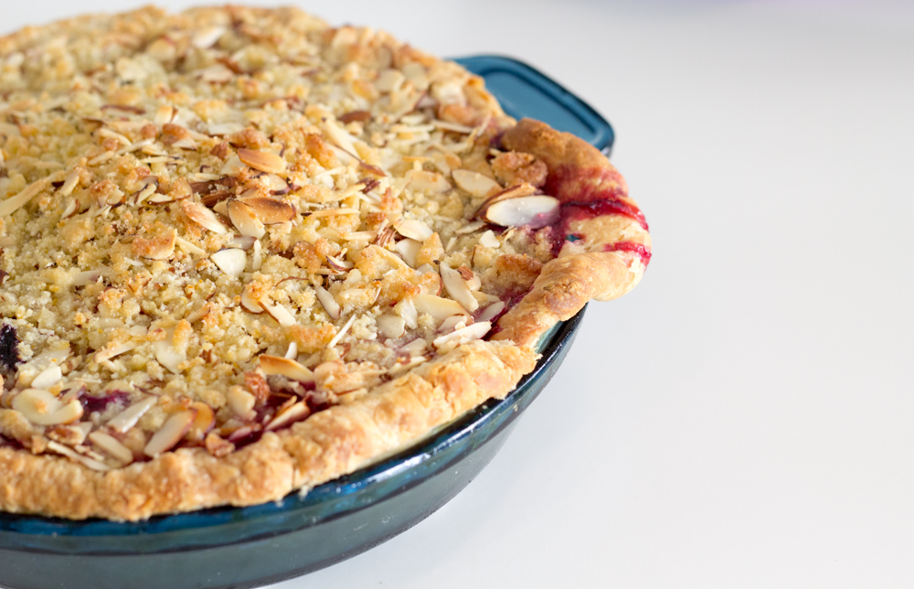 Mixed-Berry Pie With Ginger, Orange, And Almond Streusel ...